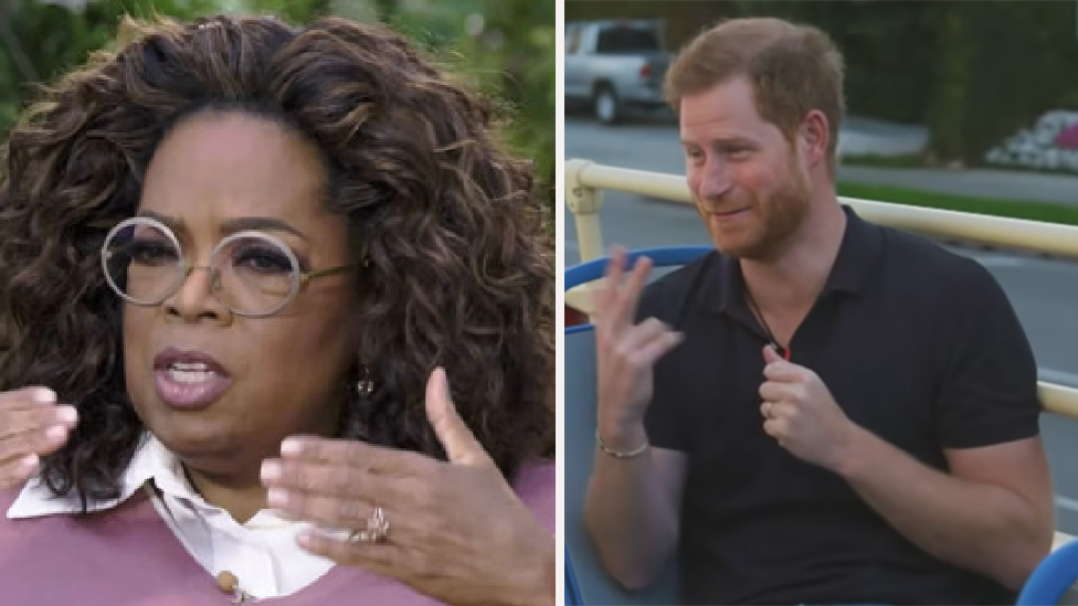 Why Oprah is 'likely livid' over Harry's latest move
