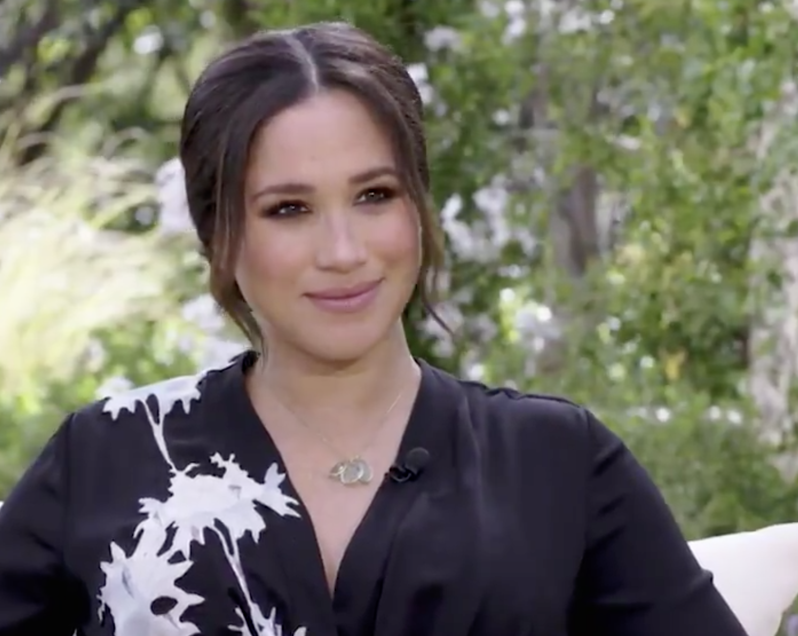 Meghan Markle says it's 'liberating' to speak for herself