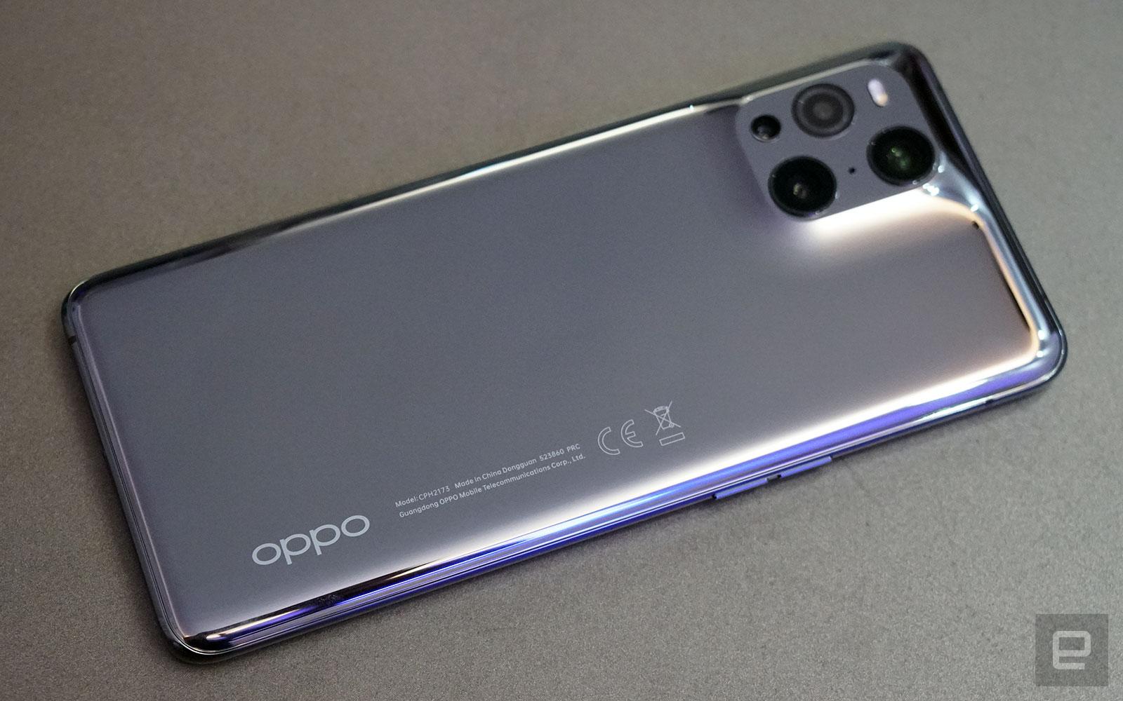 <p>Oppo Find X3 Pro</p>