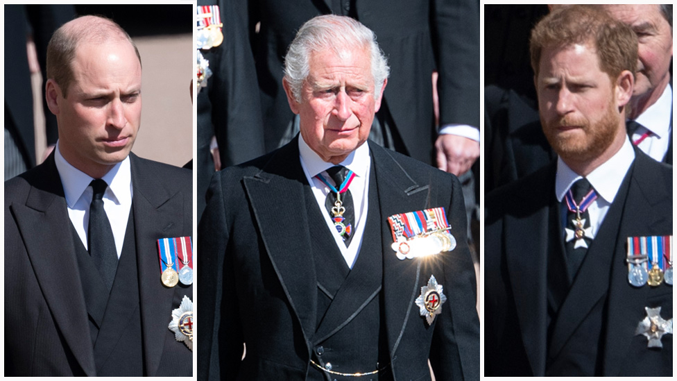 Prince Harry's two hour meeting with Charles and William