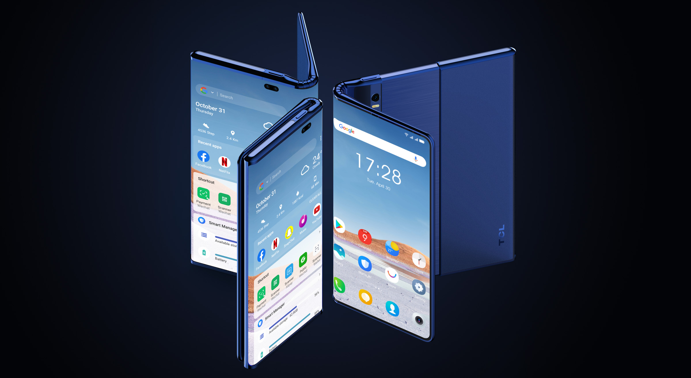 <p>TCL Fold n' Roll concept device</p>