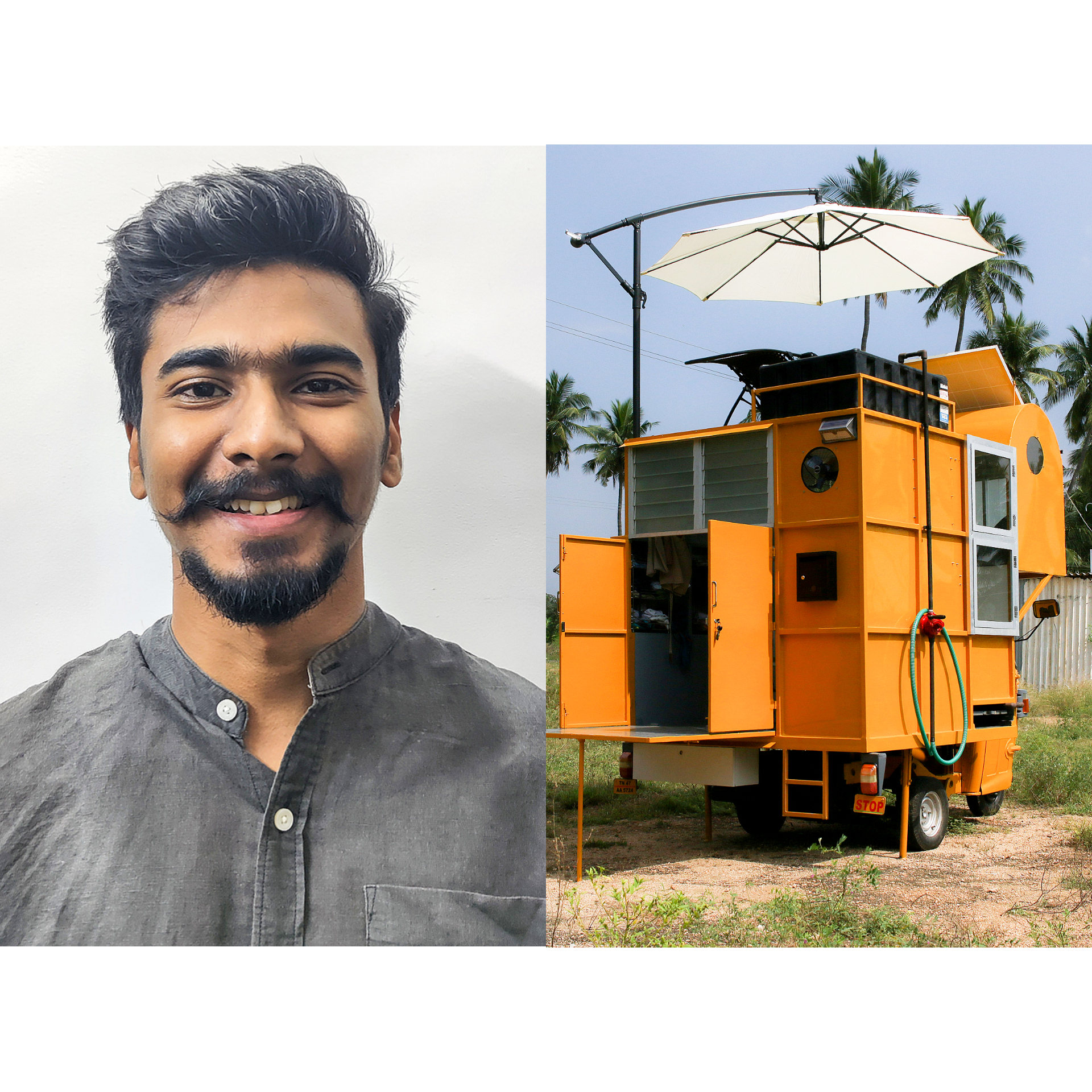 'Power of small spaces': Architect designs a 1 BHK home in a autorickshaw