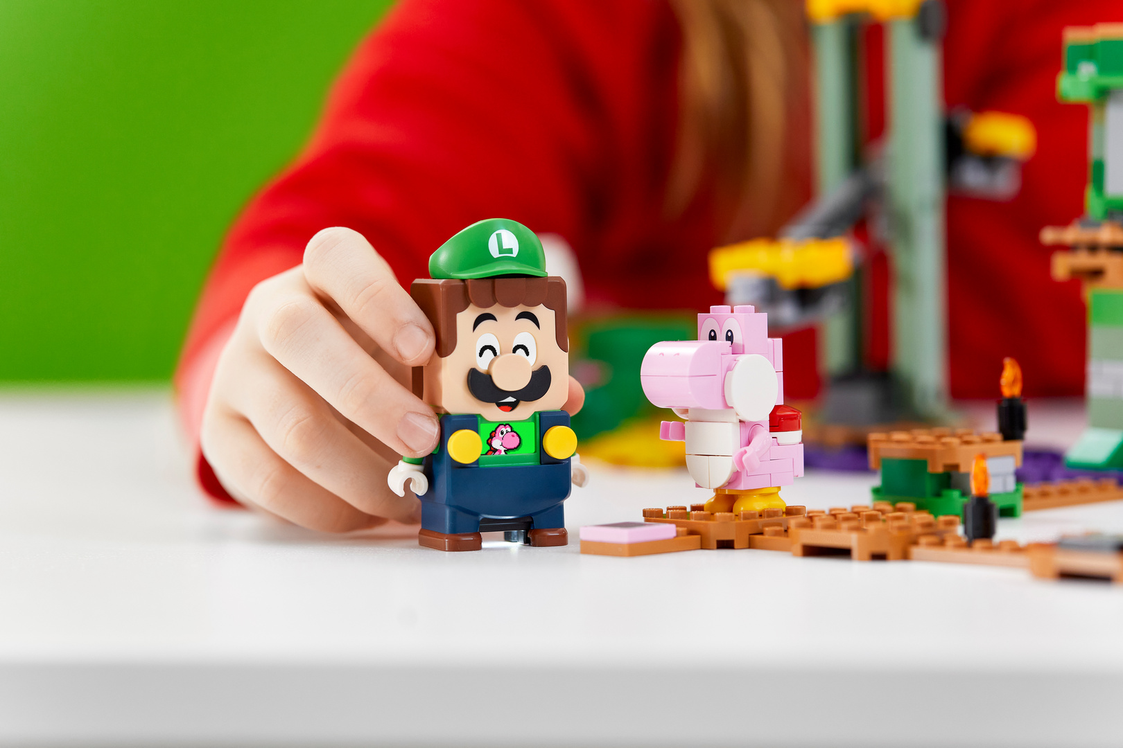 LEGO Super Mario LLEGO Luigi レゴ ルイージ