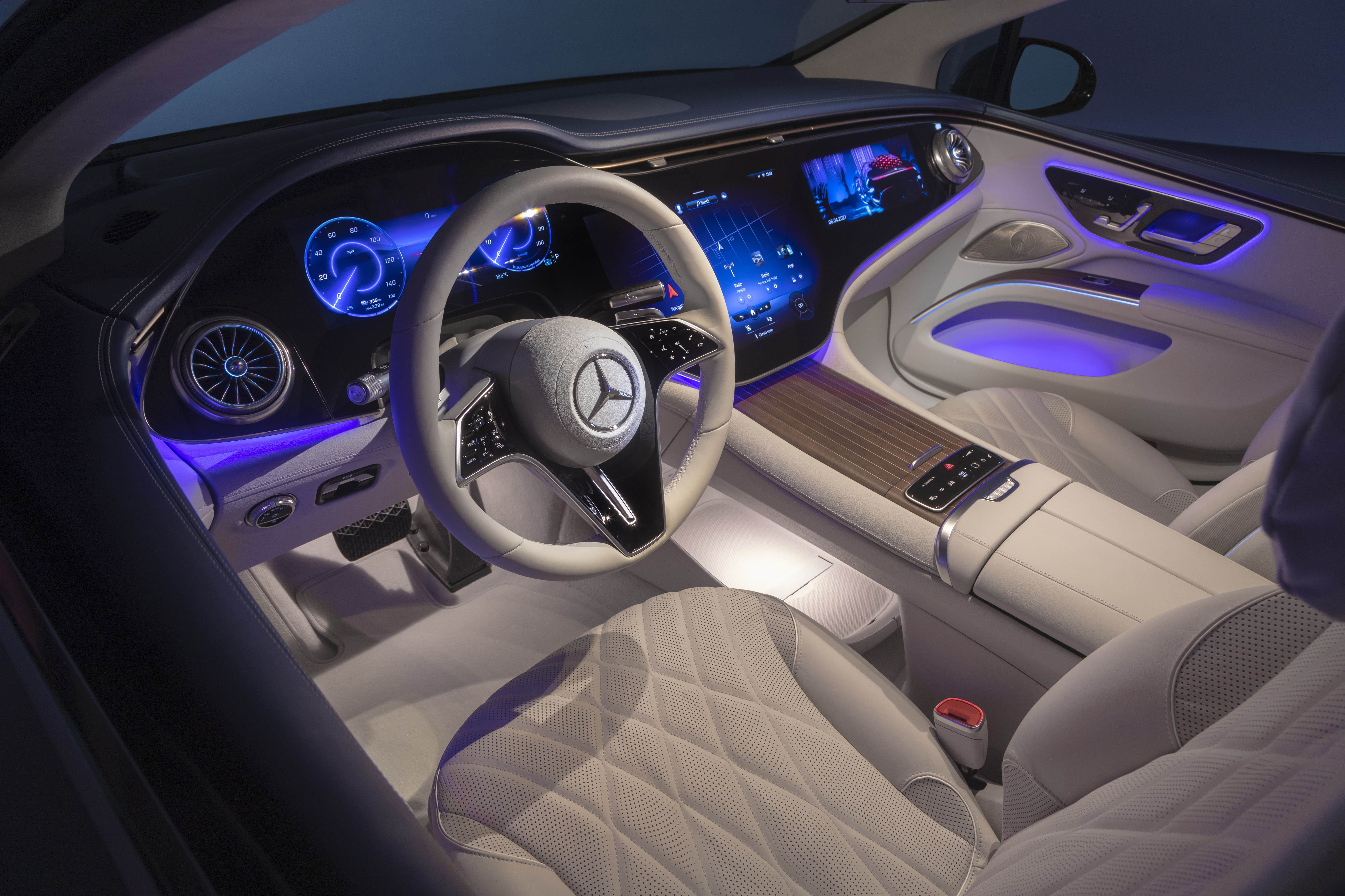 Mercedes EQS first look   Engadget