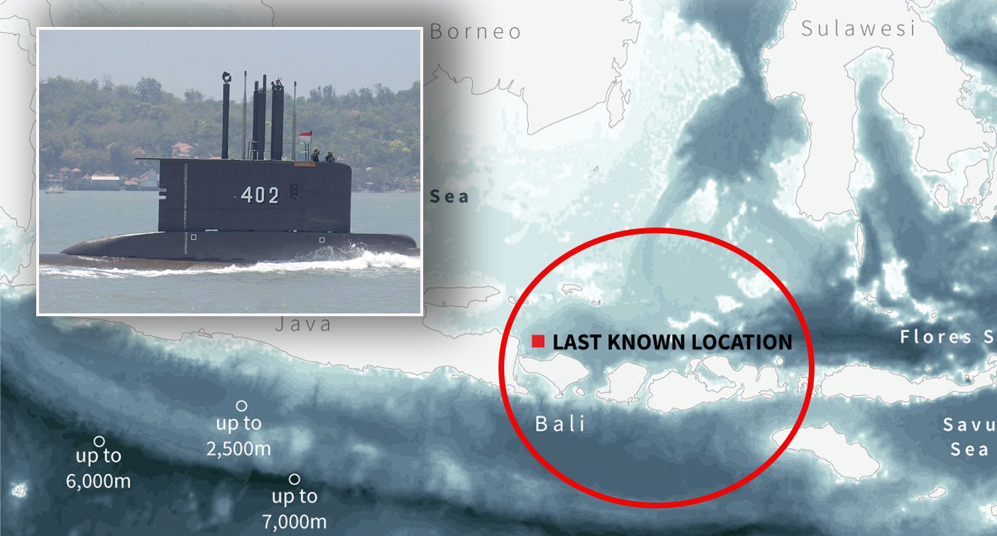 Mysterious object detected in search for missing submarine