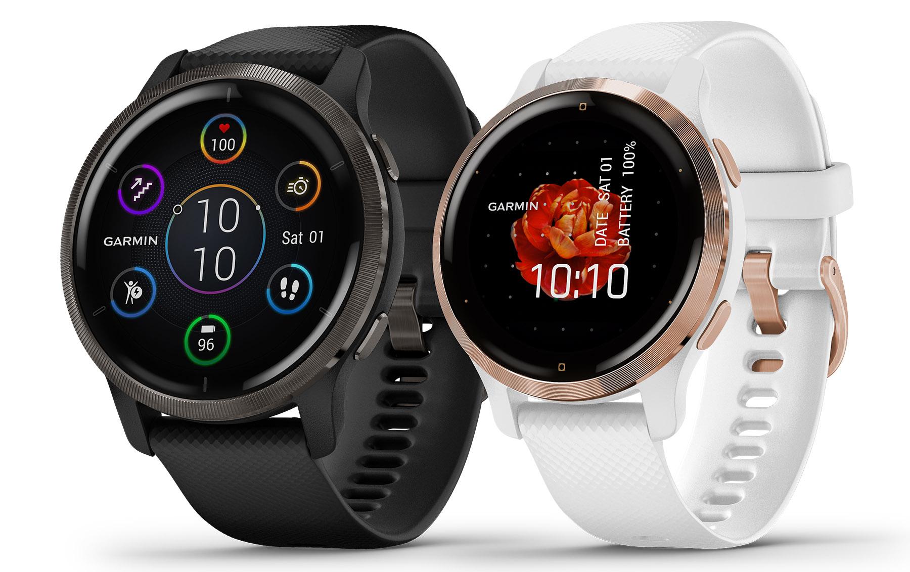 Garmin Venu 2 smartwatches provide sleep scores and health snapshots