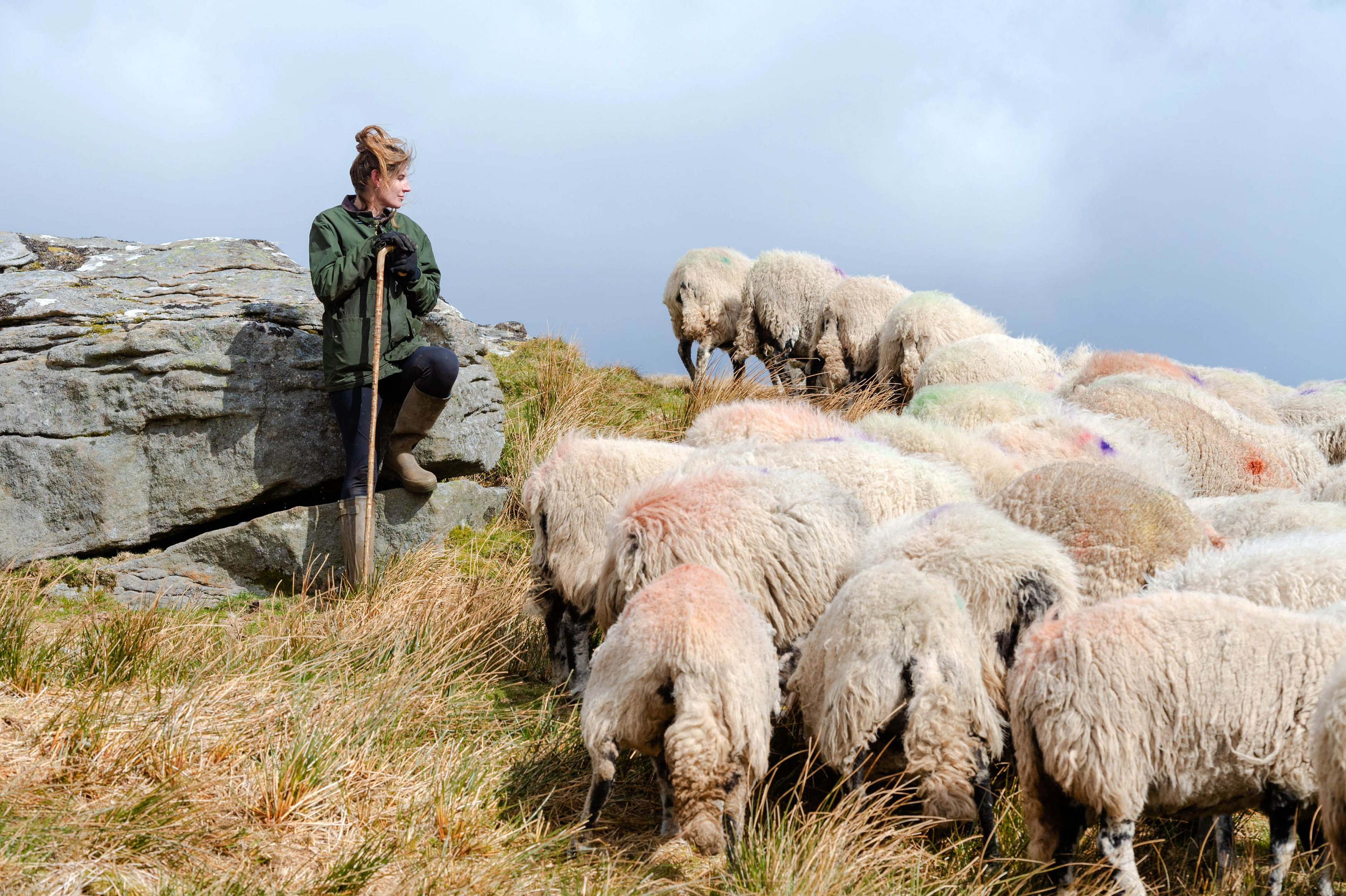 <p>EDITORIAL USE ONLY Yorkshire Shepherdess, Amanda Owen launches Premier Inn's first-ever video streaming platform Ewe.Tube, dedicated to encouraging the nation to sleep better by digitally counting sheep. Issue date: Wednesday April 21, 2021.</p>