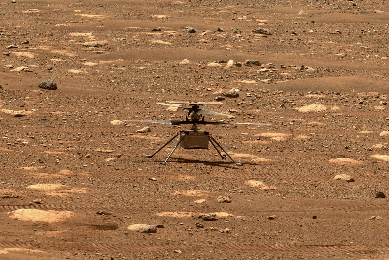 NASA Ingenuity probe