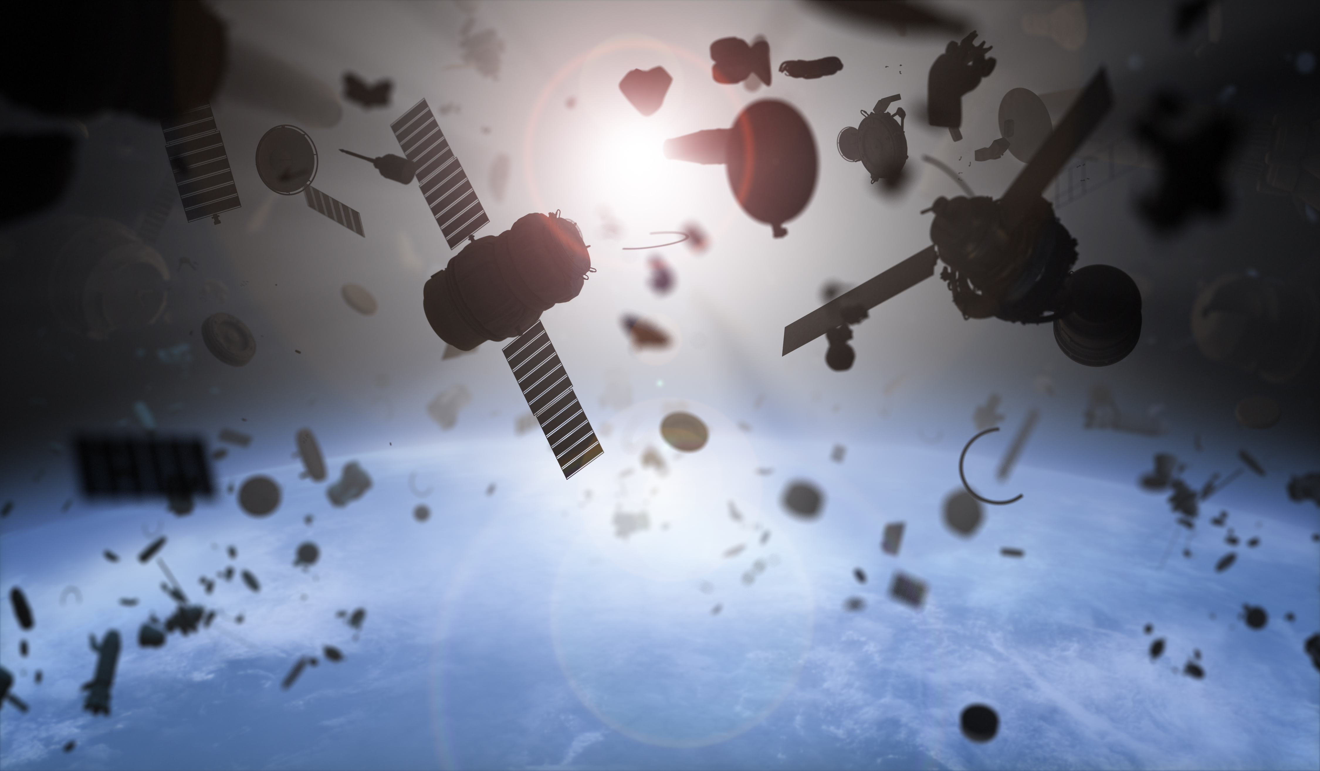We're entombing the Earth in an impenetrable shell of dead satellites