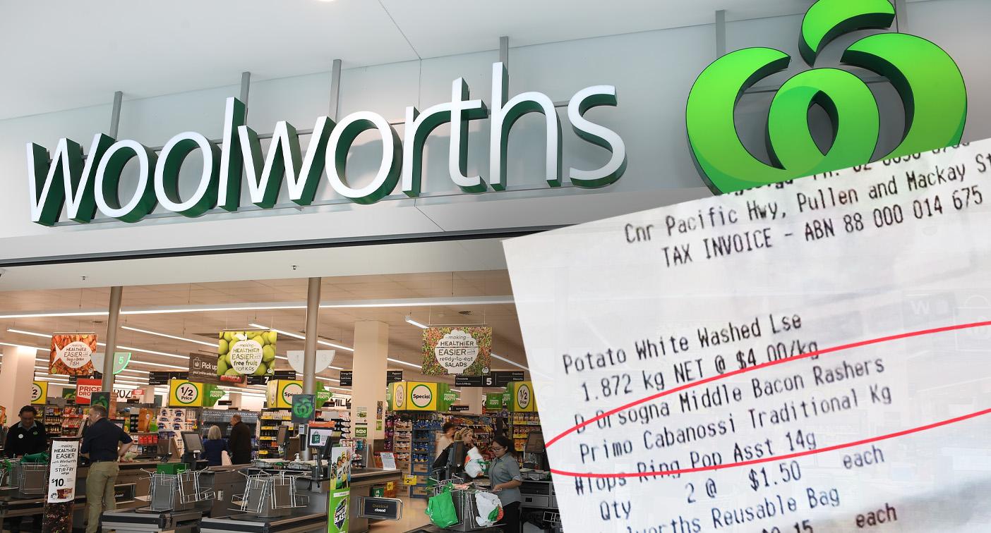 Customer slams Woolworths over $333 scanning error – Yahoo News Australia
