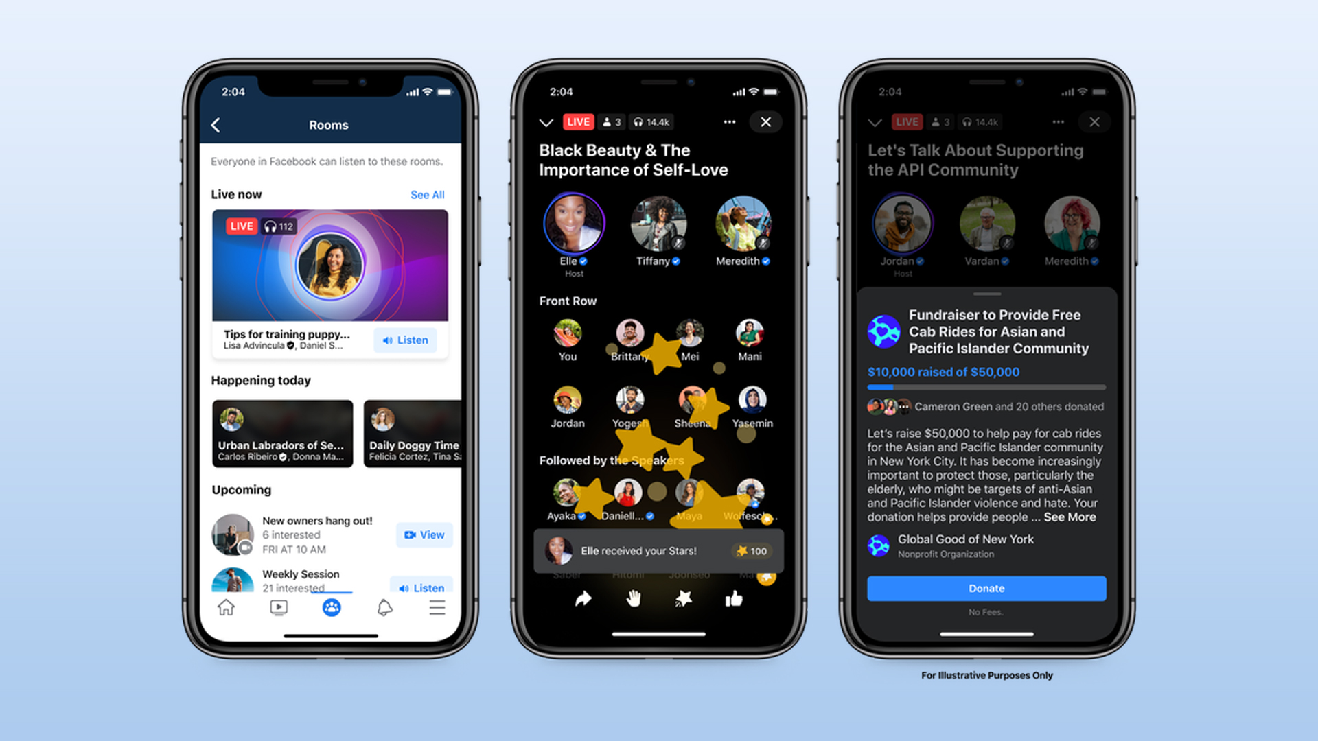Facebook introduces new audio features to compete with Clubhouse