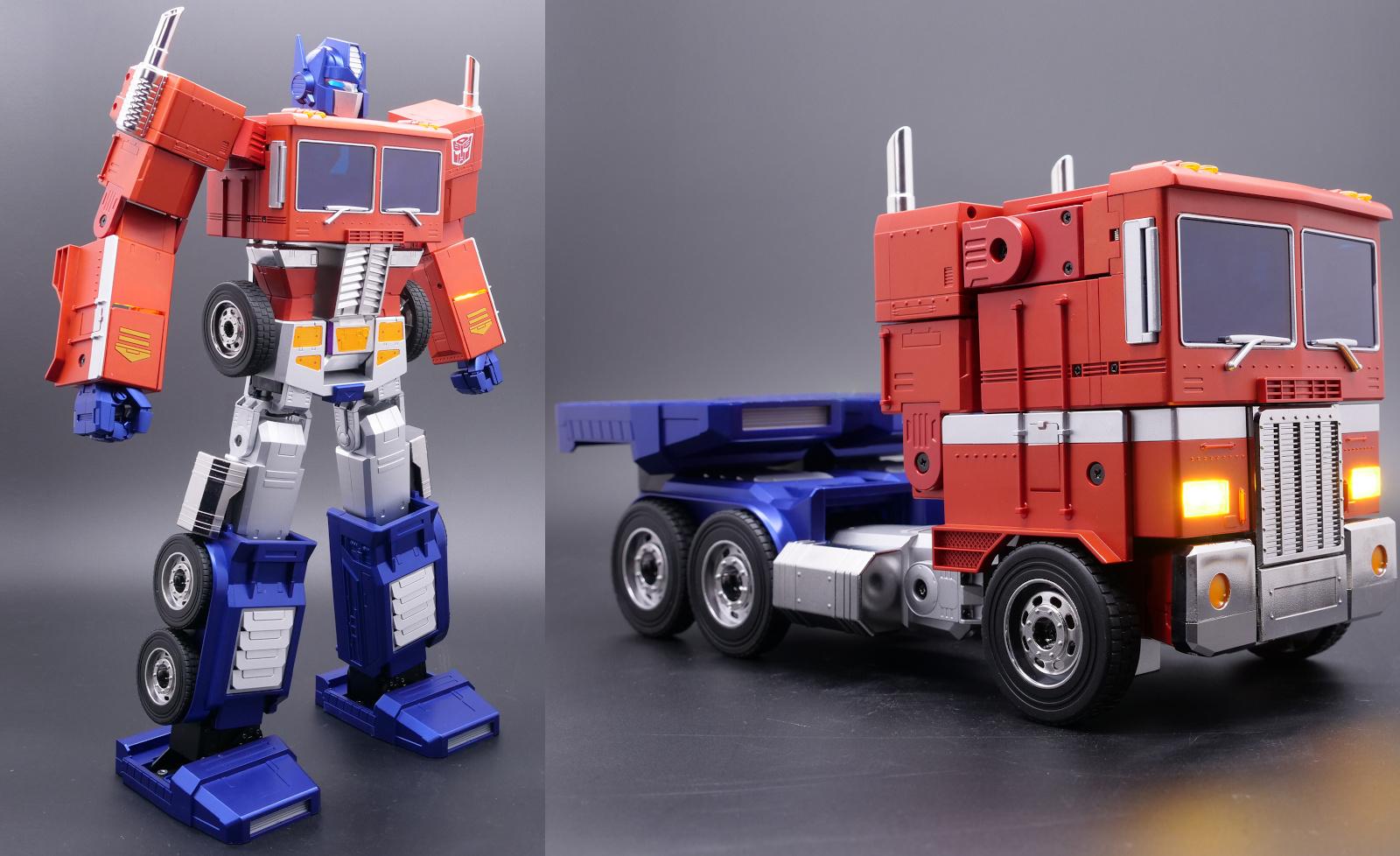 Robosen Robotics' Optimus Prime collectible responds to voice commands | Engadget