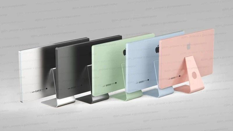 colorful iMac