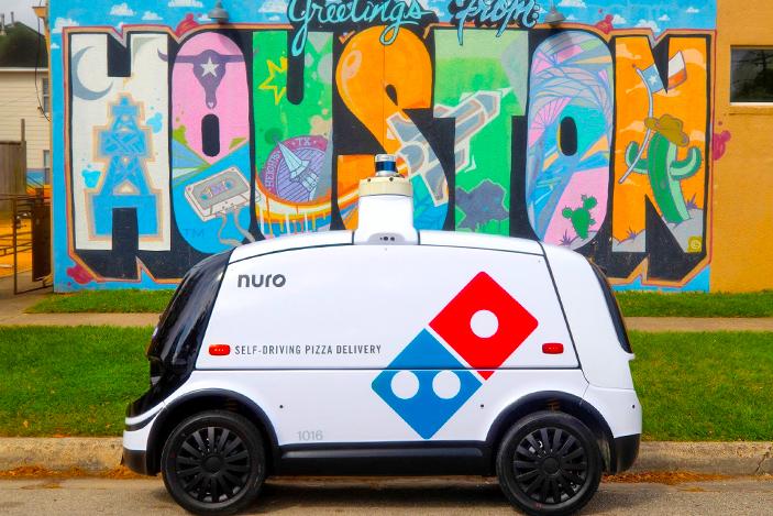 Domino's starts making autonomous pizza deliveries
