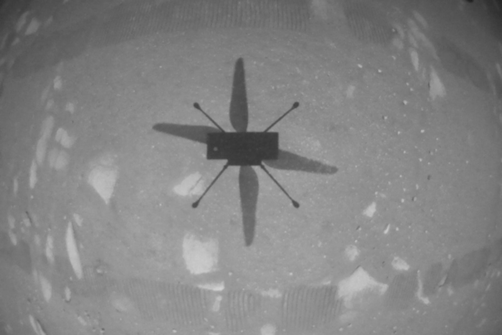 NASA's Mars helicopter became the first plane to fly on another planet