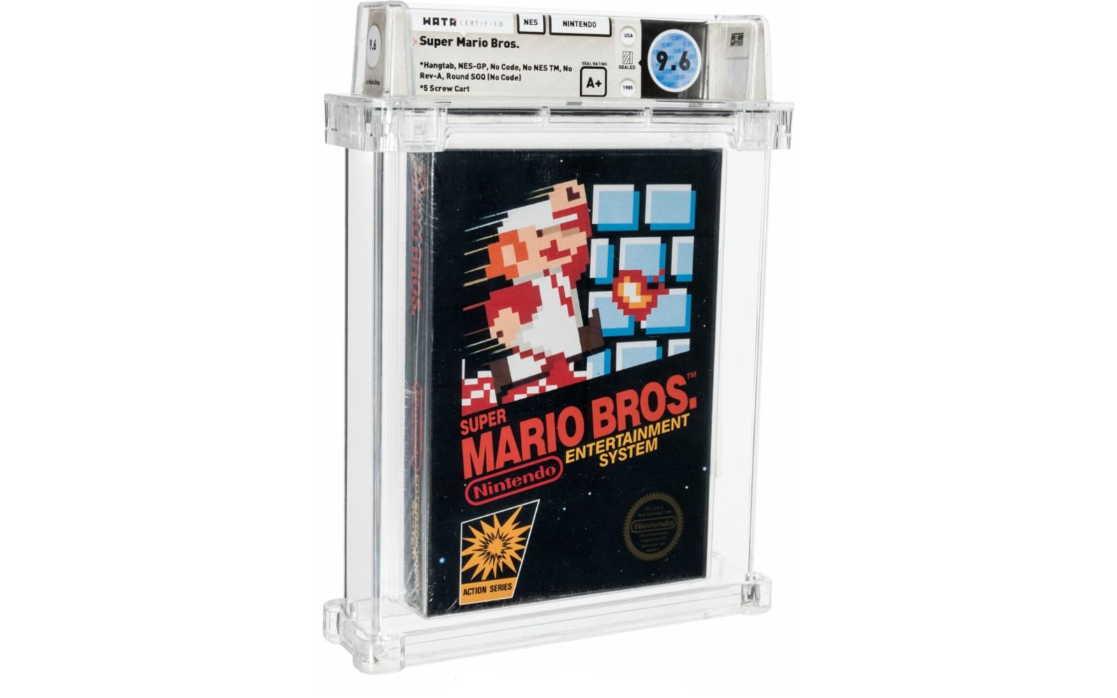 Super Mario Bros. - Wata 9.6 A+ Sealed