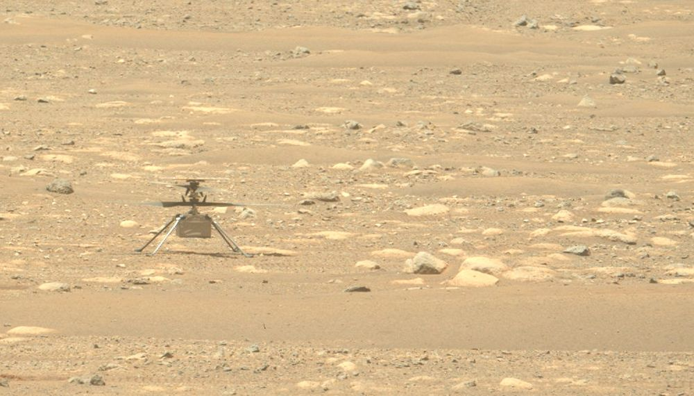 Ingenuity Mars Helicopter completes a 'spin test,' moves closer to flight | Engadget