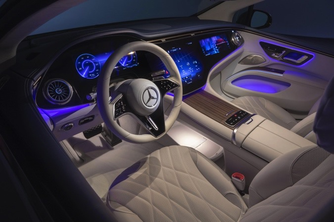 The Morning After: Touring Mercedes' very luxurious EV