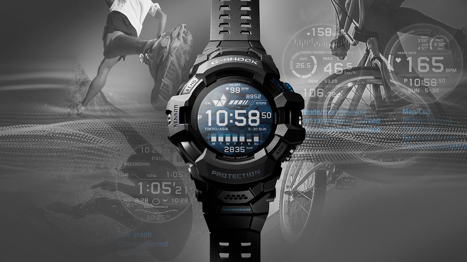 卡西歐G-Squad Pro GSW-H1000