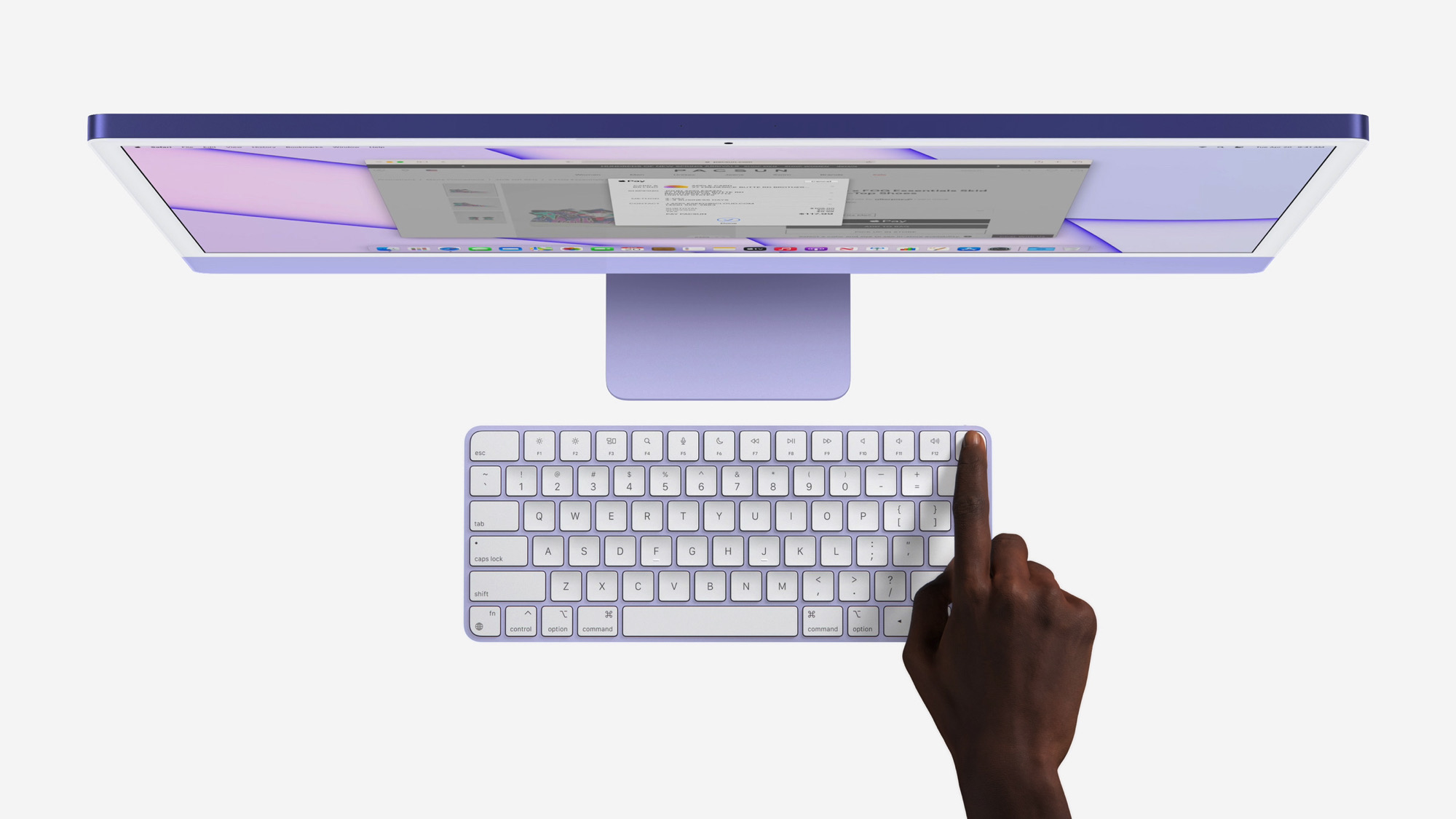 Apple is bringing Touch ID to the new iMacs