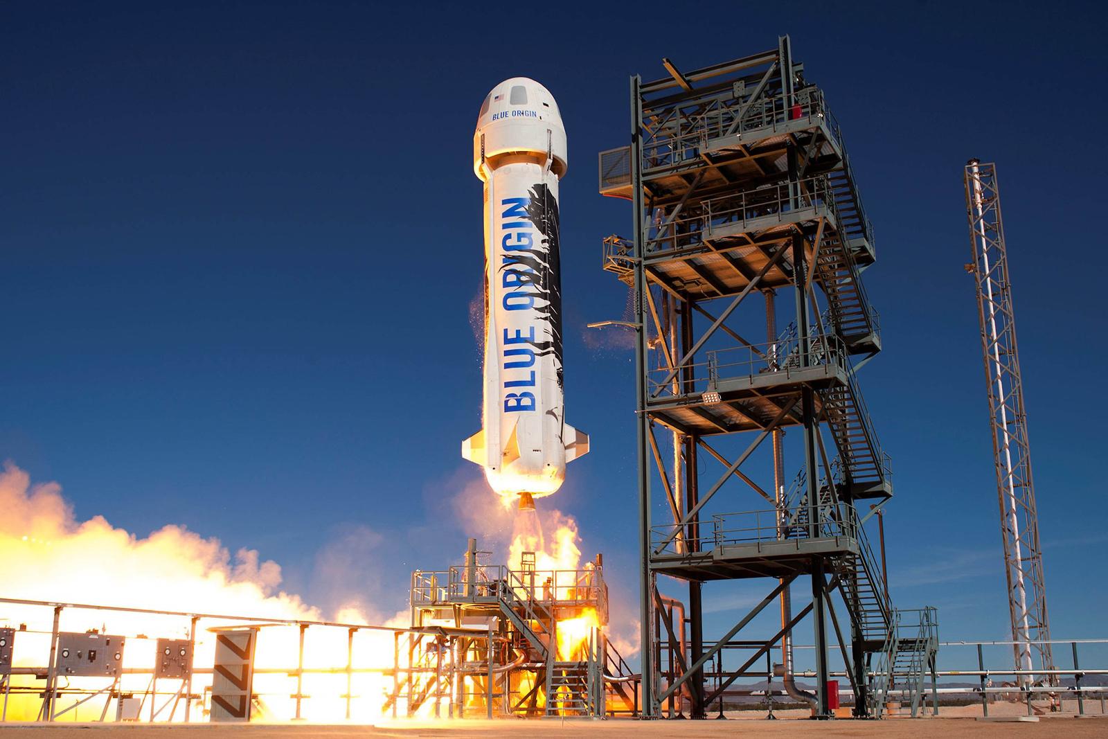 Blue Origin's 15th New Shepard test flight serves as an astronaut rehearsal | Engadget