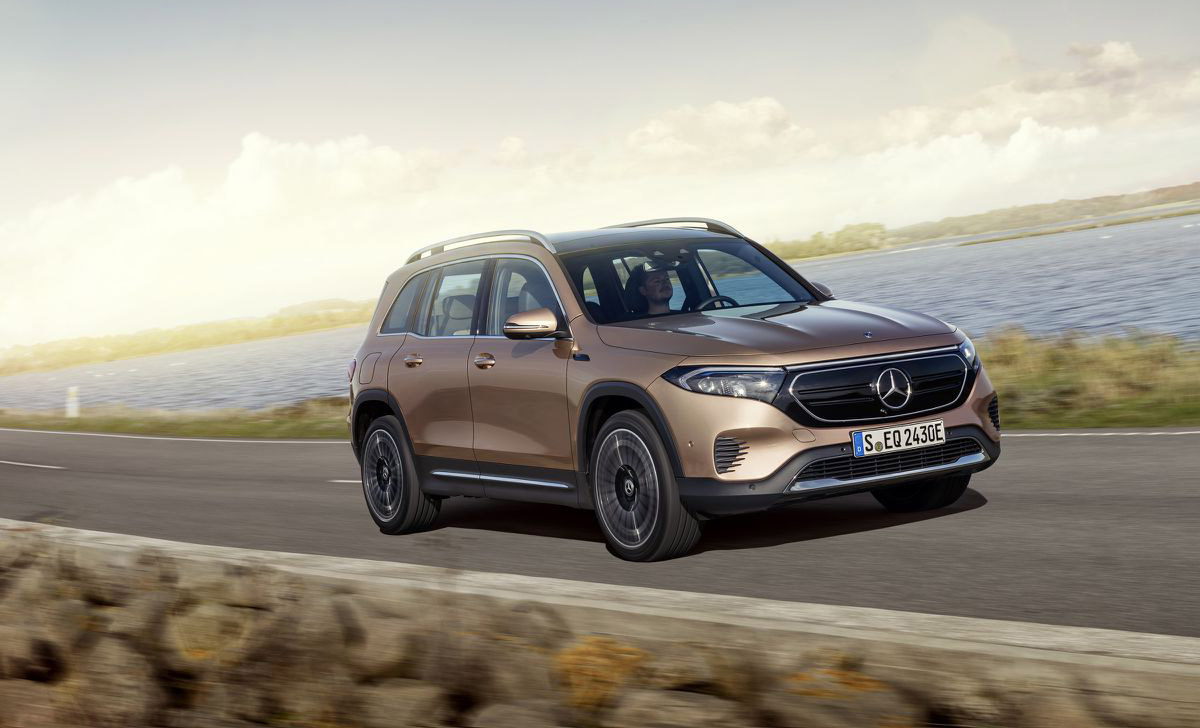 Mercedes-Benz unveils the EQB, its first electric SUV for the US market
