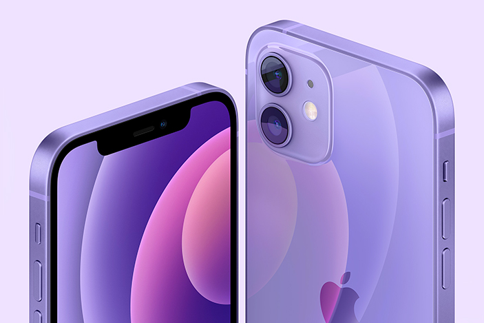 The iPhone 12 and iPhone 12 mini are now available in purple