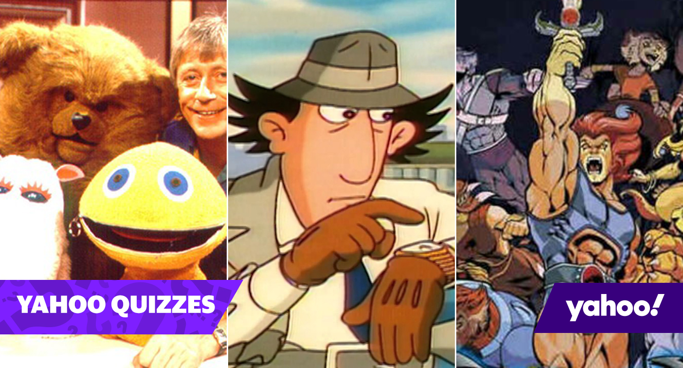 Quiz! Can you remember all these retro children's TV shows?