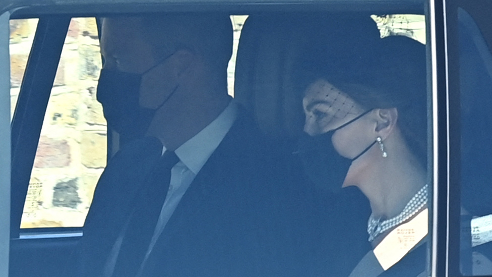 Kate Middleton's nod to the Queen and Diana at Philip's funeral