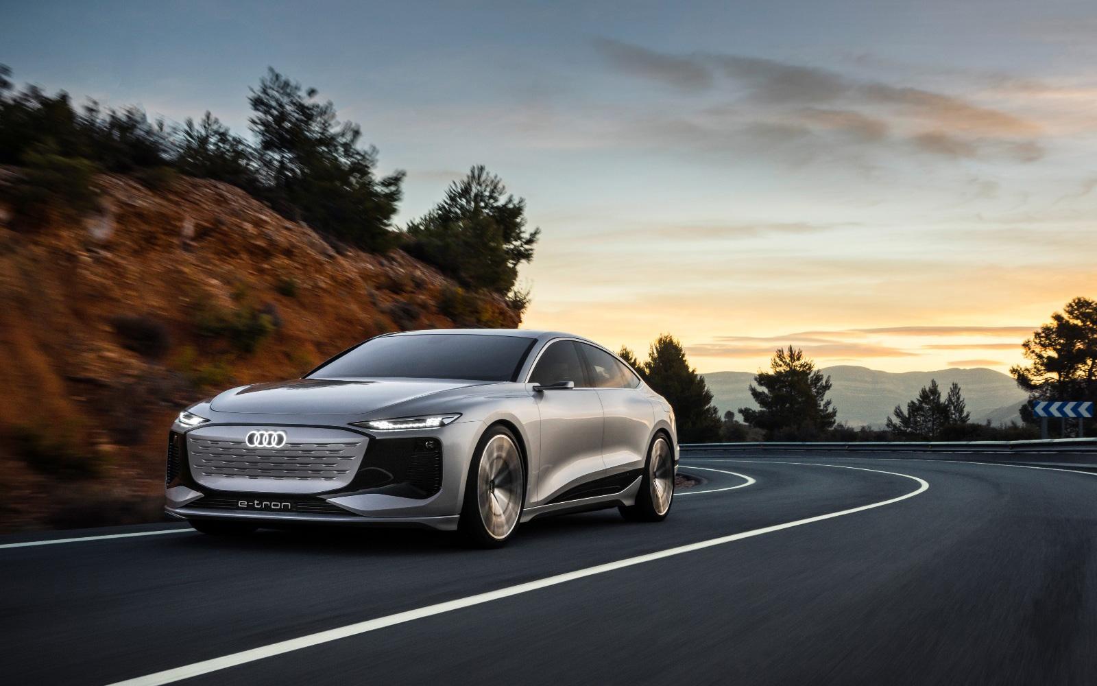 Audi A6 e-tron 概念