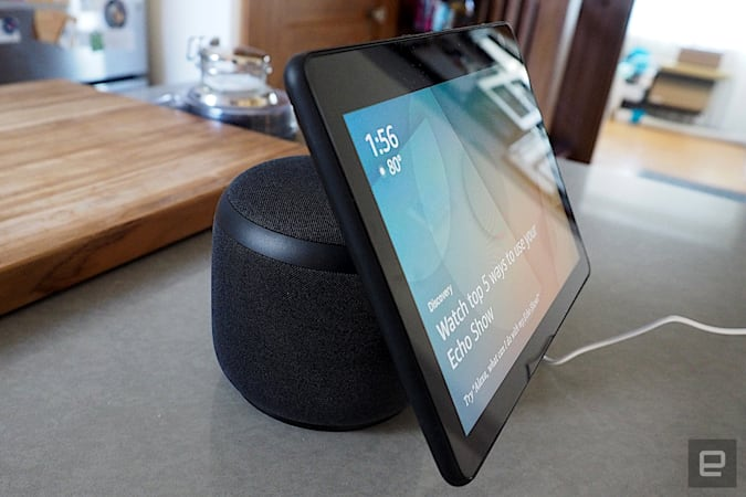 Amazon takes $50 off its rotating Echo Show 10
