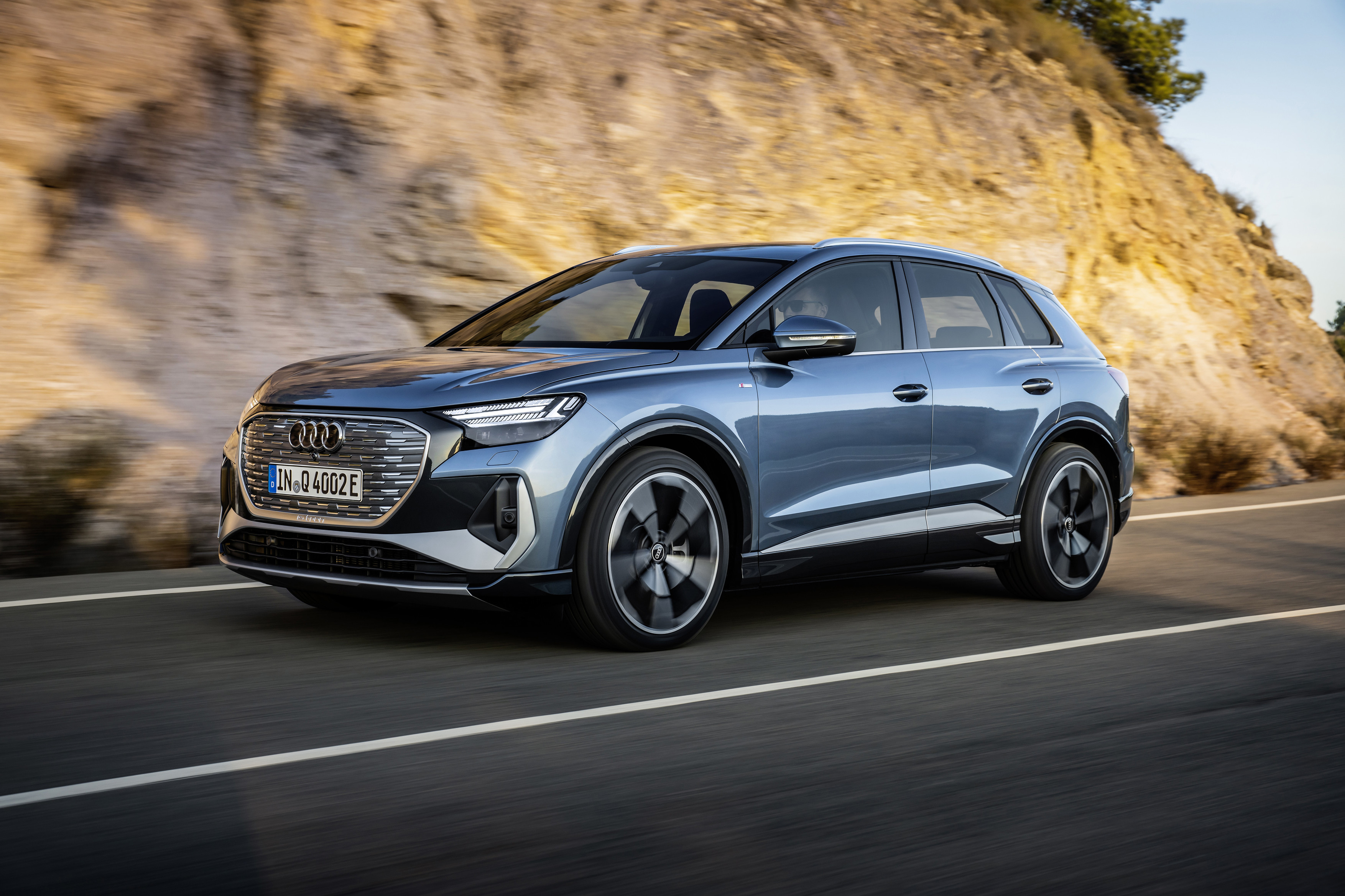 The Q4 e-tron and its Sportback sibling join Audi's European EV lineup... image