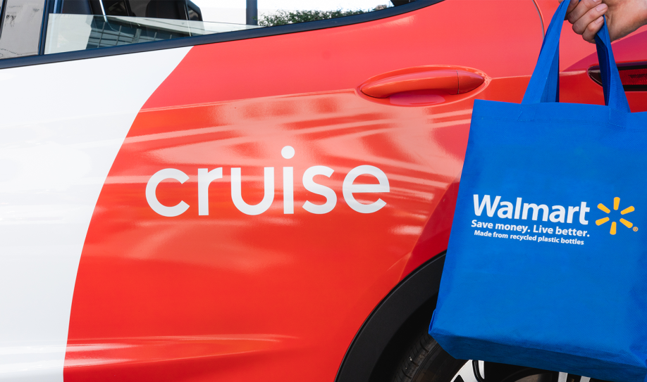 Walmart invests in GM-owned autonomous car startup Cruise
