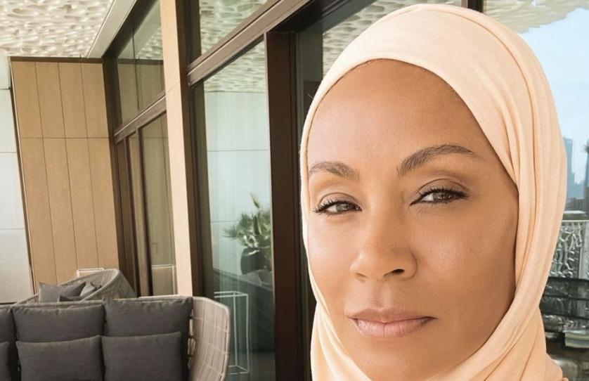 Jada Pinkett Smith shares selfie wearing hijab during Middle East trip: 'Salaam, you look phenomenal'