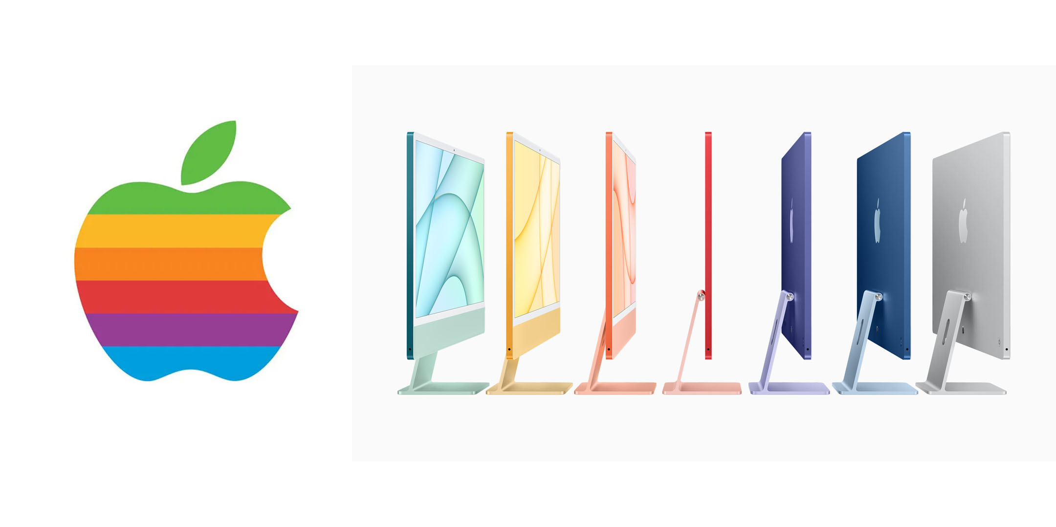 iMac 2021 Rainbow