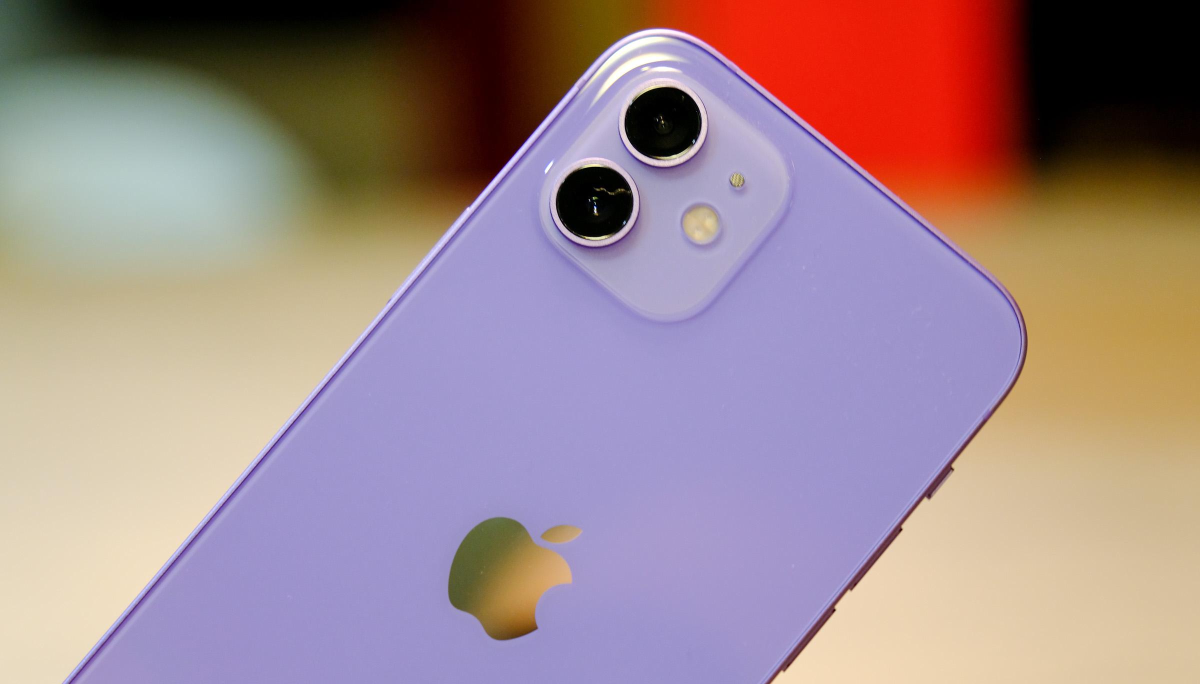 <p>Apple iPhone 12 in purple</p>