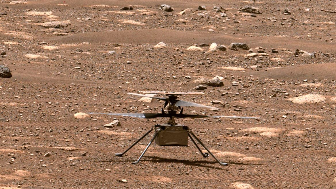NASA's Mars copter needs a software update ahead of its flight test - Engadget