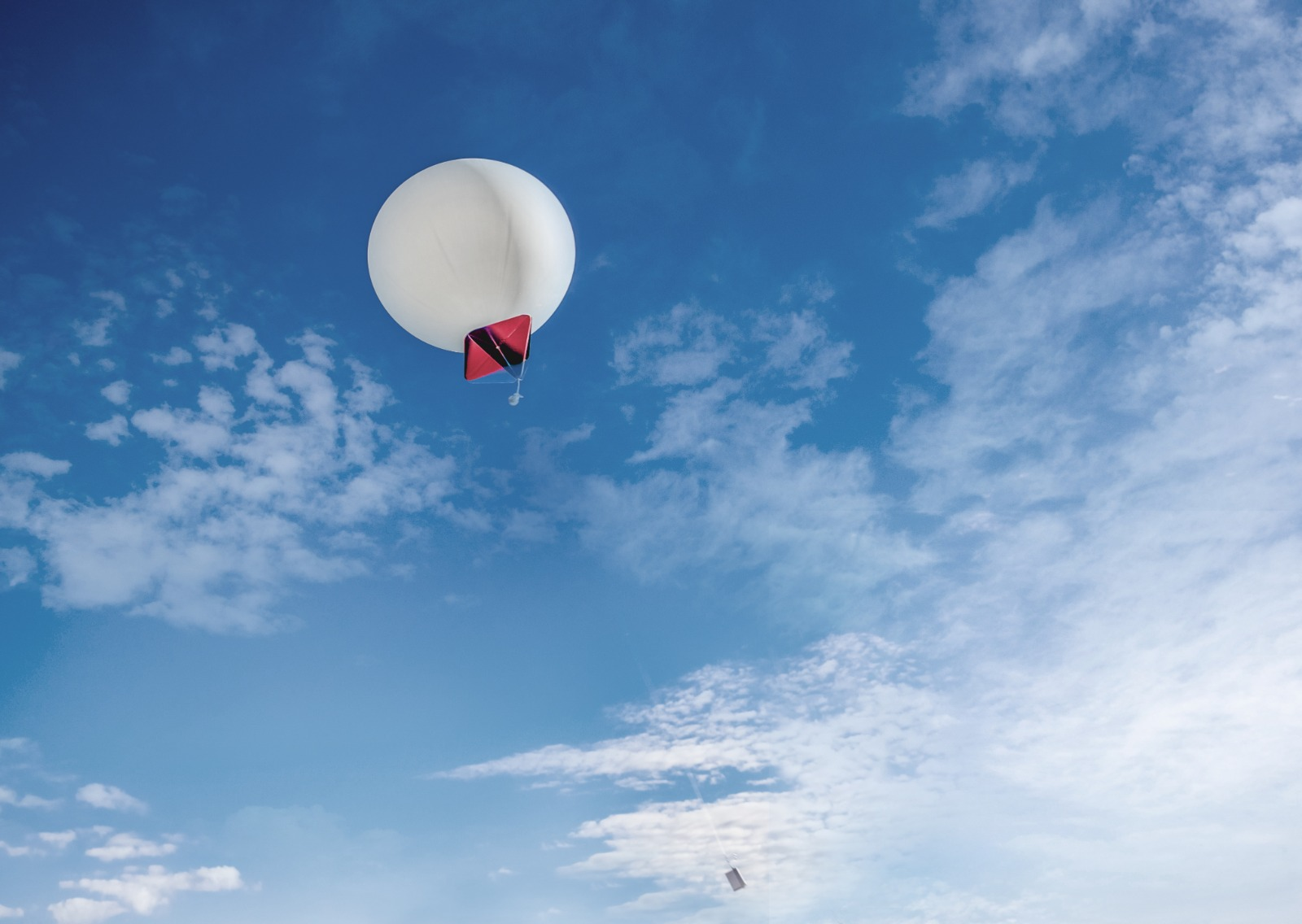 High Hopes plans to extract atmospheric CO2 balloons into hot air
