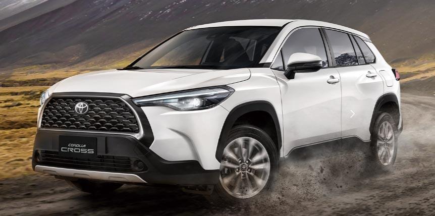 图/本月的销售冠军仍然由丰田卡罗拉十字(Toyota Corolla Cross)主导,共售出4142辆汽车,再次成功挑战4,000辆。