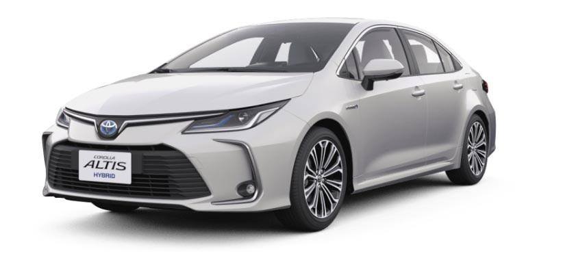 图/丰田花冠Altis家用旅行车仍然赢得了部分家用车清单,月销量为1,640辆。