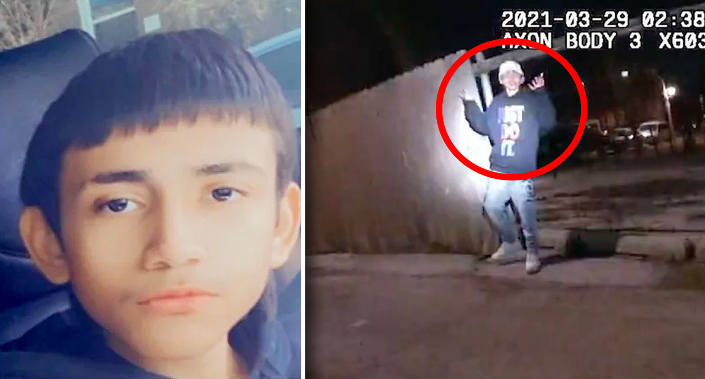 Disturbing video of boy holding up hands before shooting death