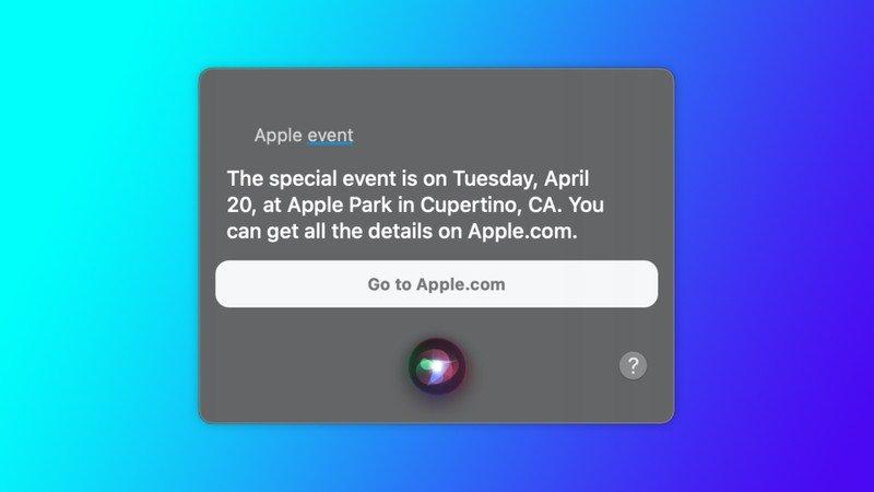 Siri-apple-event