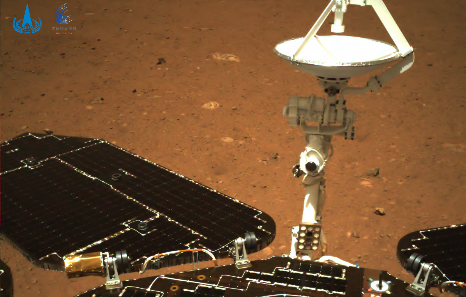 China reveals first Mars photos taken by the Zhurong rover – Yahoo Finance Australia