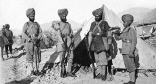 How 21 gallant Sikh soldiers took on an army of 10,000 Afghan tribesmen