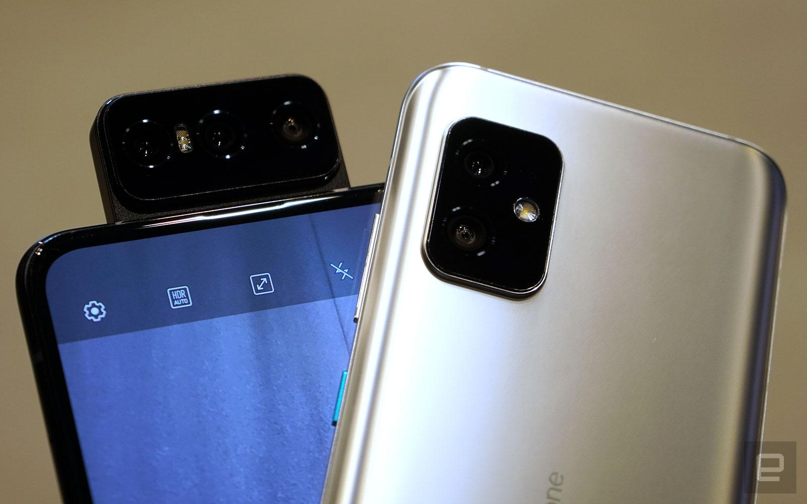 ASUS Zenfone 8 Flip 及 Zenfone 8