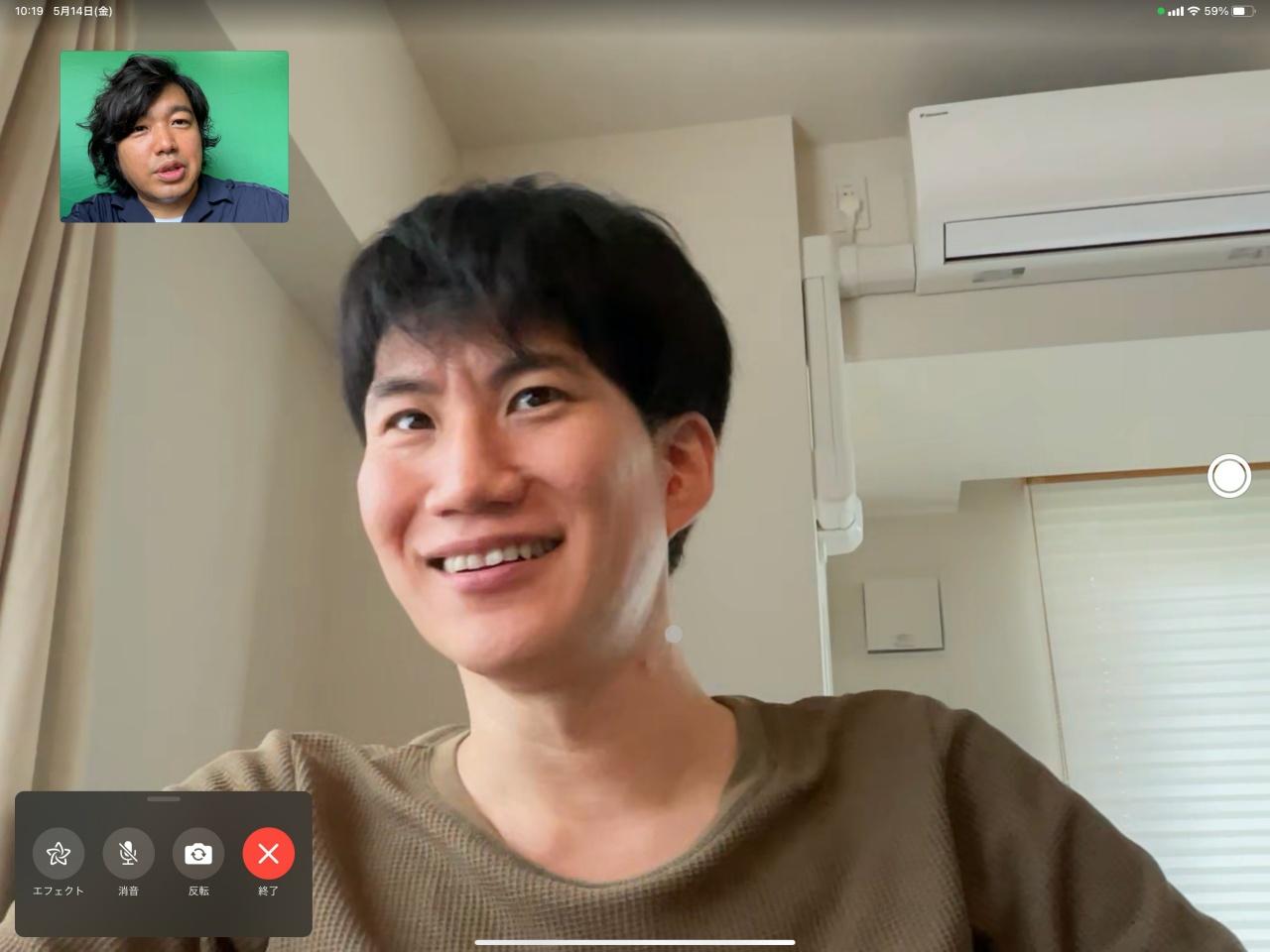 iPad Pro 5G Junya Ishino