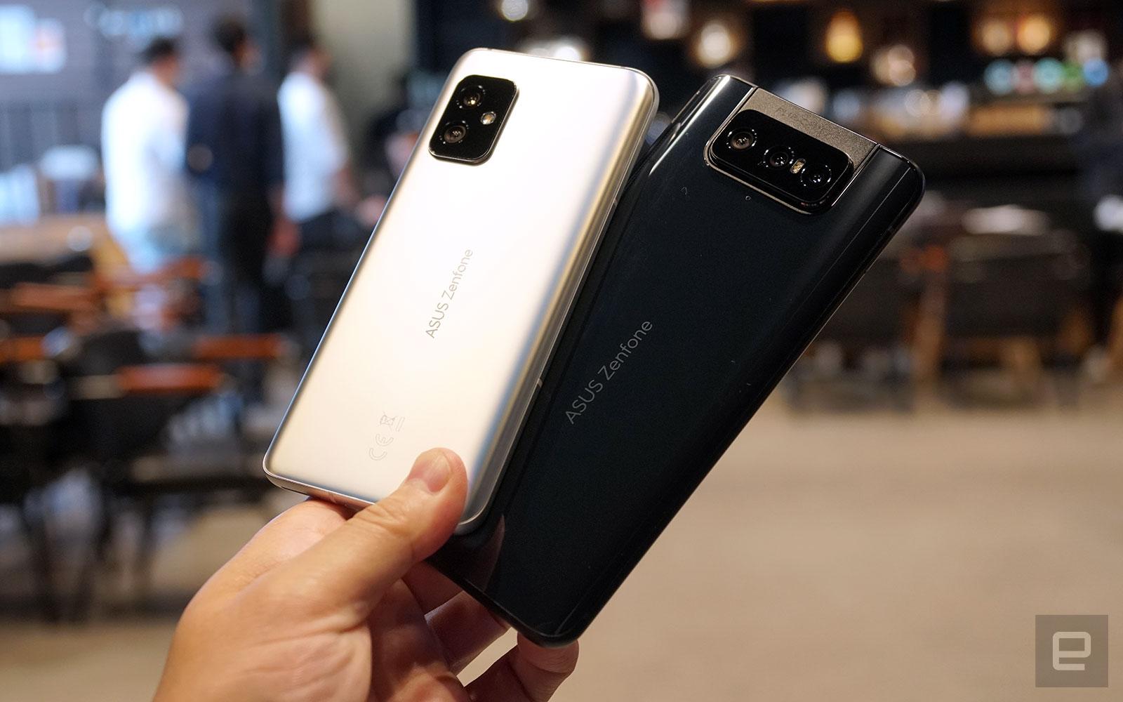 ASUS Zenfone 8 及 Zenfone 8 Flip