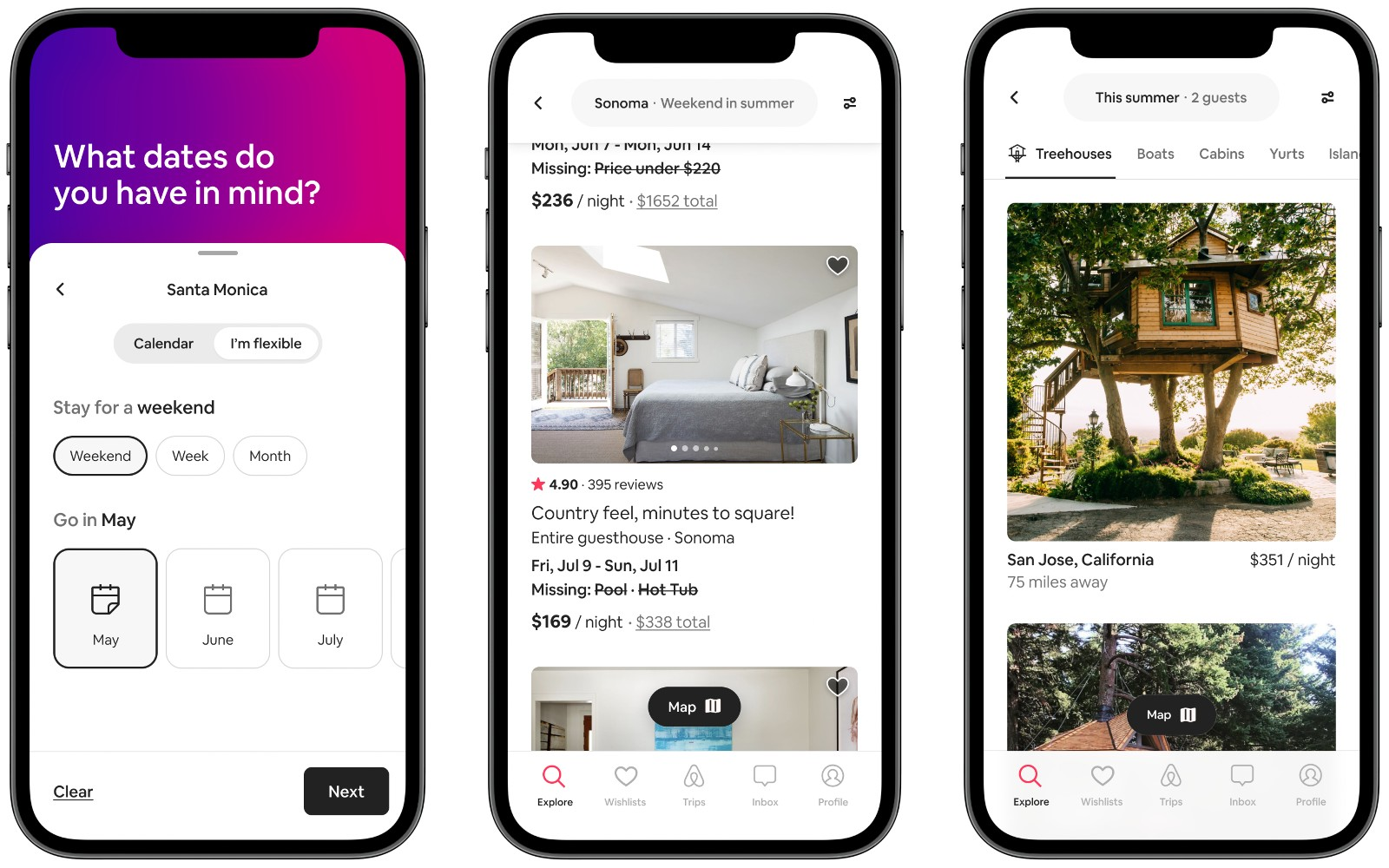 Airbnb adds more flexible search options   Engadget