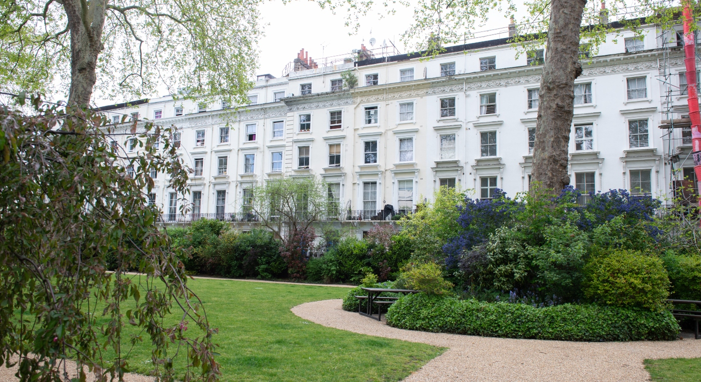 A secret garden is for sale in London - for the first time in 165 years