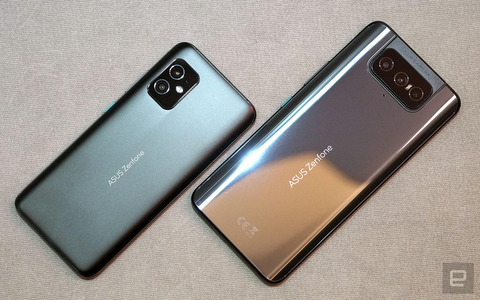 <p>ASUS ZenFone 8 and ZenFone 8 Flip</p>